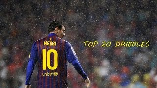 Lionel Messi - Top 20 Dribbles Ever (No Goals) | HD