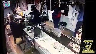 Robber Wasn't Expecting Bystander to Get Involved   Active Self Protection