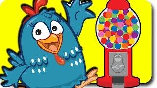 Lottie Dottie Chicken Baby Nursery Rhymes Lullabies Lyrics - Galinha Pintadinha
