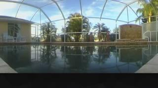 Florida Pool - Evening