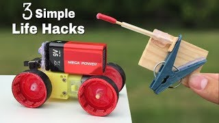 3 Simple Life Hacks for Fun and ideas