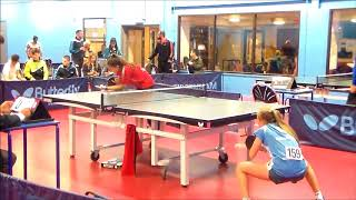 GIRLS PLAY TABLE TENNIS