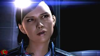 Mass Effect 3 Samantha Traynor Romance Sex & Female Shepard Shower Full CutScenes (ME3)
