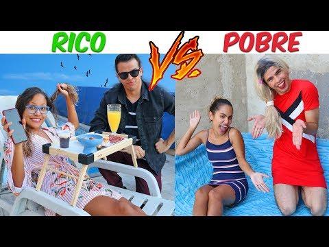 RICO VS POBRE DIA DAS CRIANÇAS KIDS FUN