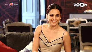 Taapsee Pannu On Open House With Renil | UNCUT