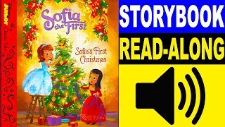 Sofia the First Read Along Story book | Sofia's First Christmas | Read Aloud Story Books for Kids