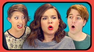 YouTubers React to Gimme Pizza Slow (Olsen Twins)