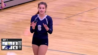 Champlin Park vs. Totino-Grace High School Volleyball