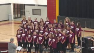 Jessie Clark Middle School Choir 2016 bother Sister Lawson Mrs Flynn