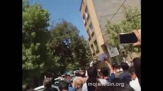 Aug 13-Mashhad protest grows in numbers every minute