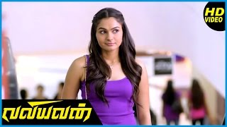 Valiyavan Tamil Movie | Scenes | Andrea tells about their first meeting to Jai
