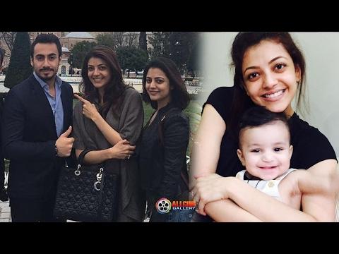 Actress Kajal Agarwal Family Photos with Parents, Sister Nisha Agarwal Stills- New 2017