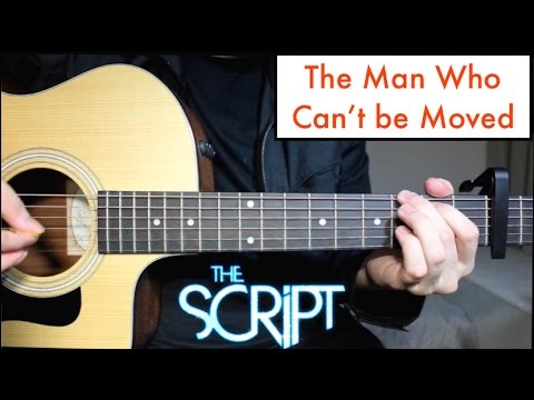 Download The Script - The Man Who Can't be Moved | Guitar Lesson Tutorial & Chords free