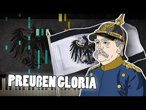 Synthesia: Preußens Gloria (Prussia Glory March) | Piano Tutorial