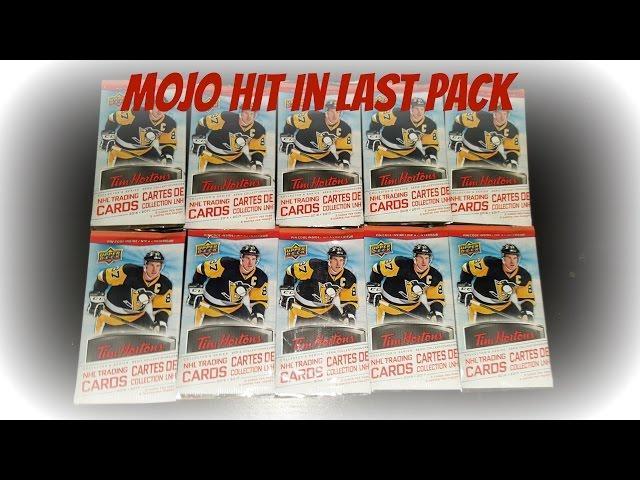 Tim Horton's Hockey Card Opening MOJO (10 pack) - 2016-2017