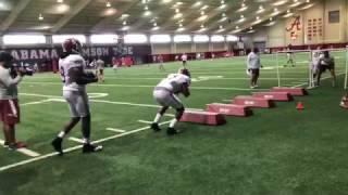 A look inside Alabama football practice