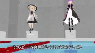 第二回幻想郷水泳大会【東方MMD】