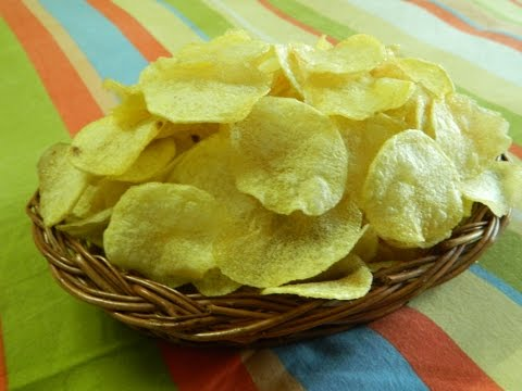 How To Make Home Made Instant Crispy Potato Wafer By Food Connection