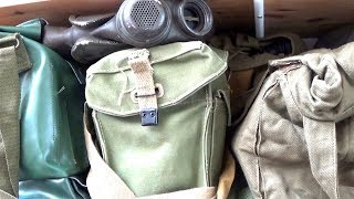 How to store gas masks properly