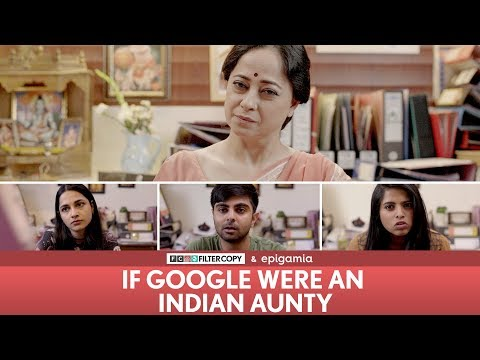Xxx Mp4 FilterCopy If Google Were An Indian Aunty Ft Sheeba Chadha Akash Deep Madhu Nayana 3gp Sex