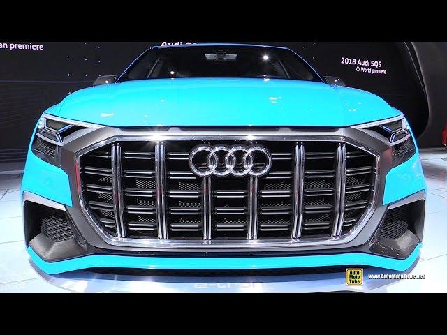 Audi Q8 Concept - Exterior and Interior Walkaround - 2017 Detroit Auto Show