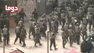دوما:30/4/2012 اكبر اقتحام تشهده المدينة منذ الصباح
