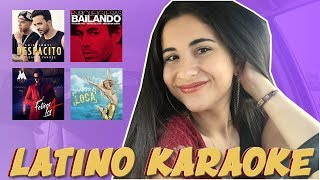 LATINO HITS CARPOOL KARAOKE | Just Sharon