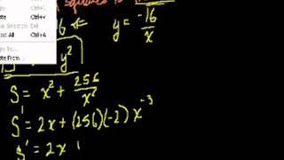 Optimization with Calculus 1 (Bangla)