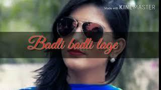 Sapna Choudhary WhatsApp Video Status||Chandigrah Jawan Lagi ||Badli Badli lage