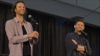 Jared Padalecki and Jensen Ackles GOLD FULL Panel SpnPitt 2017 Supernatural