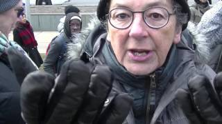 Mobbed by Group of SJWs at Toronto Trump Protest