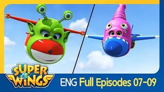 [Super Wings] Full Episodes 07~09(ENG)