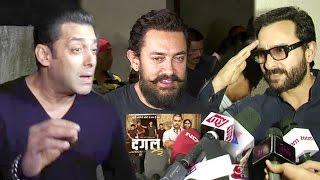 Bollywood Celebs BEST Reaction After Watching DANGAL Movie - Salman,Aamir,Saif,Kangana