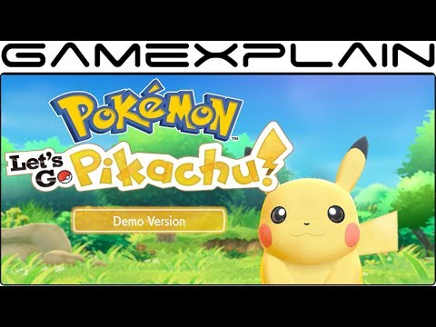 Xxx Mp4 Pokémon Let S Go Pikachu Demo DIRECT FEED Co Op Gameplay Viridian Forest 3gp Sex