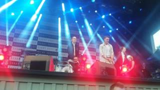 Danny Saucedo & The Fooo Conspiracy - My girl @ Gröna Lund