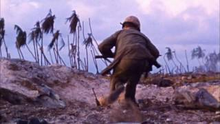 WWII More Pacific War Combat Footage IN COLOR HD 1080p