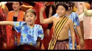 Filipino Kids amazed the Italians in KIDS GOT TALENT ITALY - One Big Family