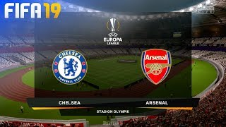 FIFA 19 - Chelsea vs. Arsenal @ Stadion Olympik (Europa League Final)