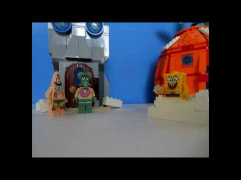 Lego SpongeBob Snowball Effect