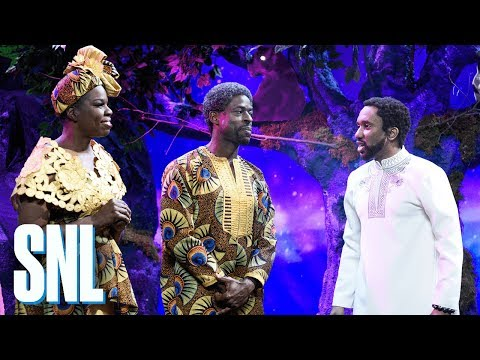 Black Panther New Scene SNL