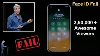Apple iPhone X Face ID Unlock Demo Failed Twice during Launch Event (Full Video)