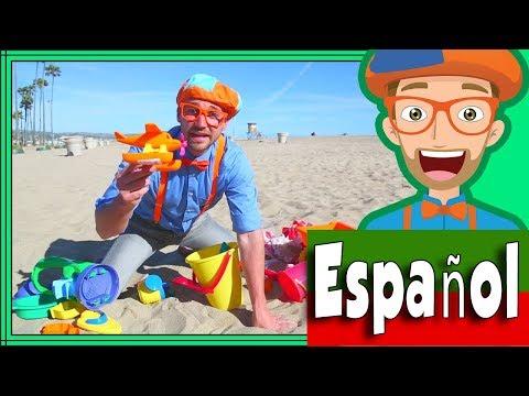 Xxx Mp4 Blippi Español En La Playa Con Juguetes De Arena Aprende Colores Para Niños 3gp Sex