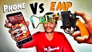 🔫 EMP Generator Gun vs Smartphone !