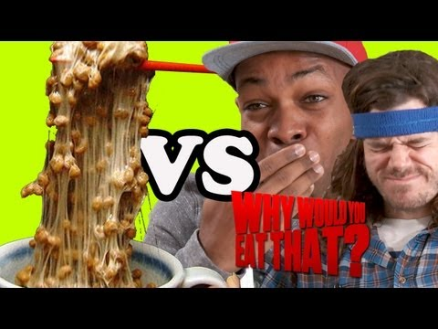 Natto Drinking Game with Todrick Hall and Andre Hyland