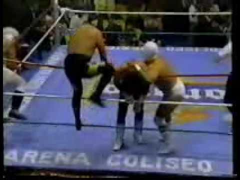 muerte de Oro momento tragico en la lucha libre