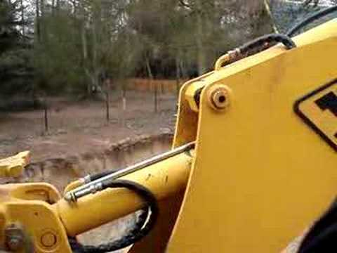 My JCB 3CX in action