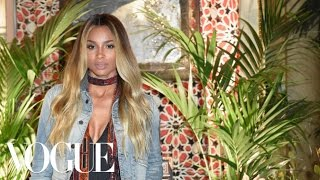 Watch Ciara's Red Carpet Beauty Routine | Vogue