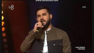 Resul Aydemir (Misal) Ben Bir İnsanım- O Ses Türkiye Yarı Fınal Performansı
