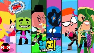 YOUNG JUSTICE IN MARTIAN TOURNAMENT - TEEN TITANS GO! FIGURE (Teeny Titans 2)