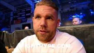BILLY JOE SAUNDERS SLAMS